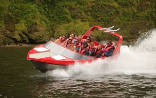Jet boating on the Whanganui